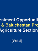 Investment Opportiunities Sistan & Baluchestan Province - Agriculture Section (Vol.2)